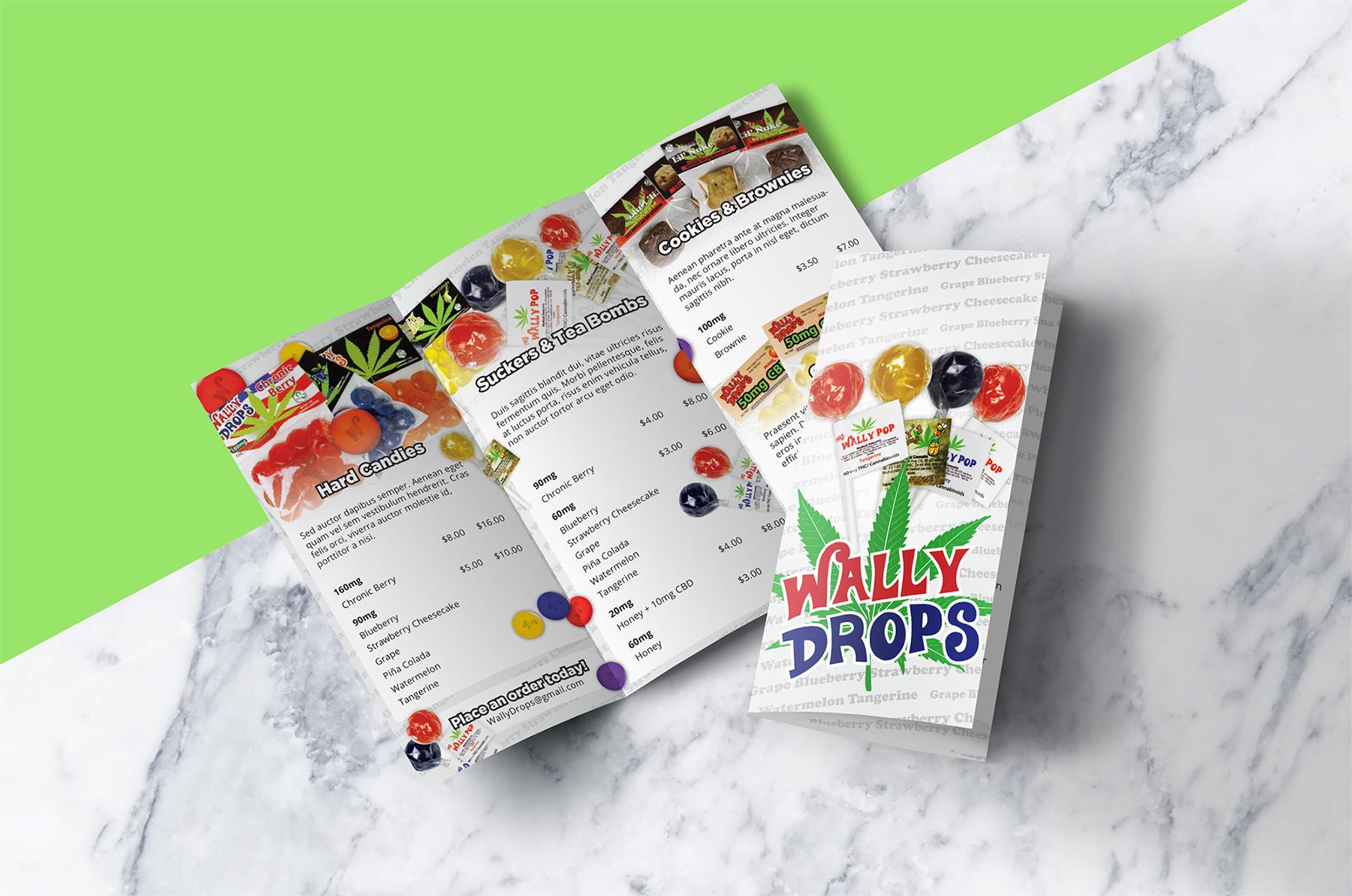 Wally Drops Distribution Brochure