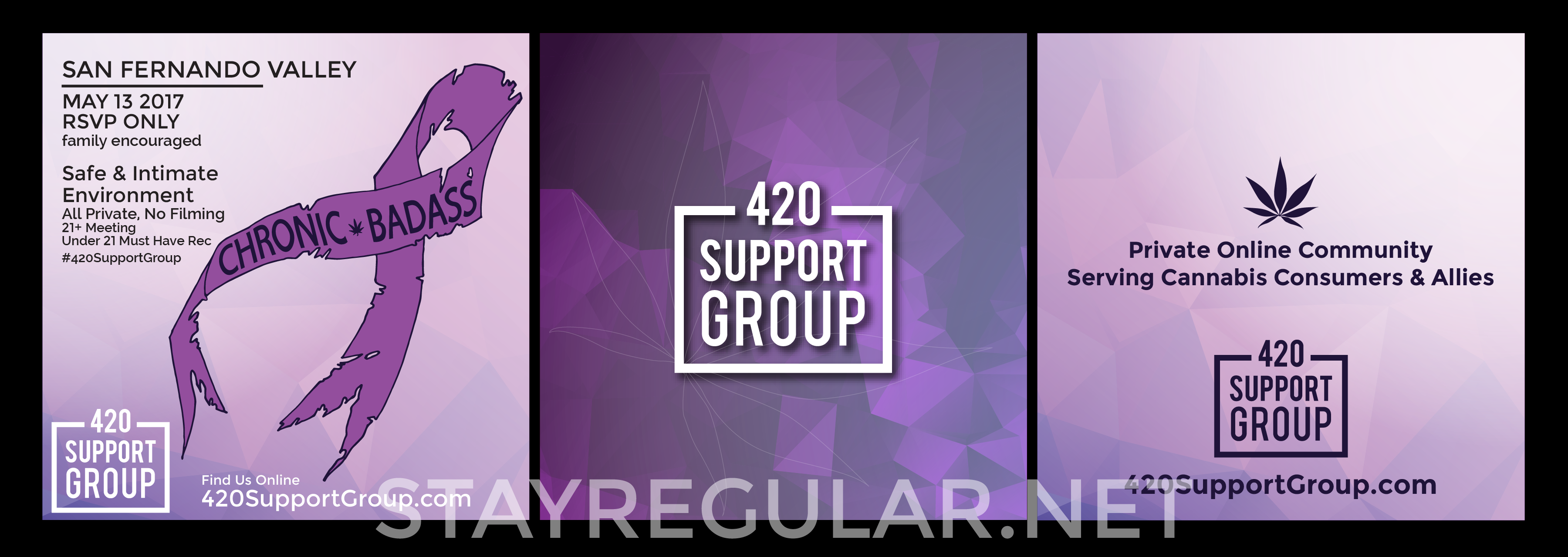 420 Support Group Launch