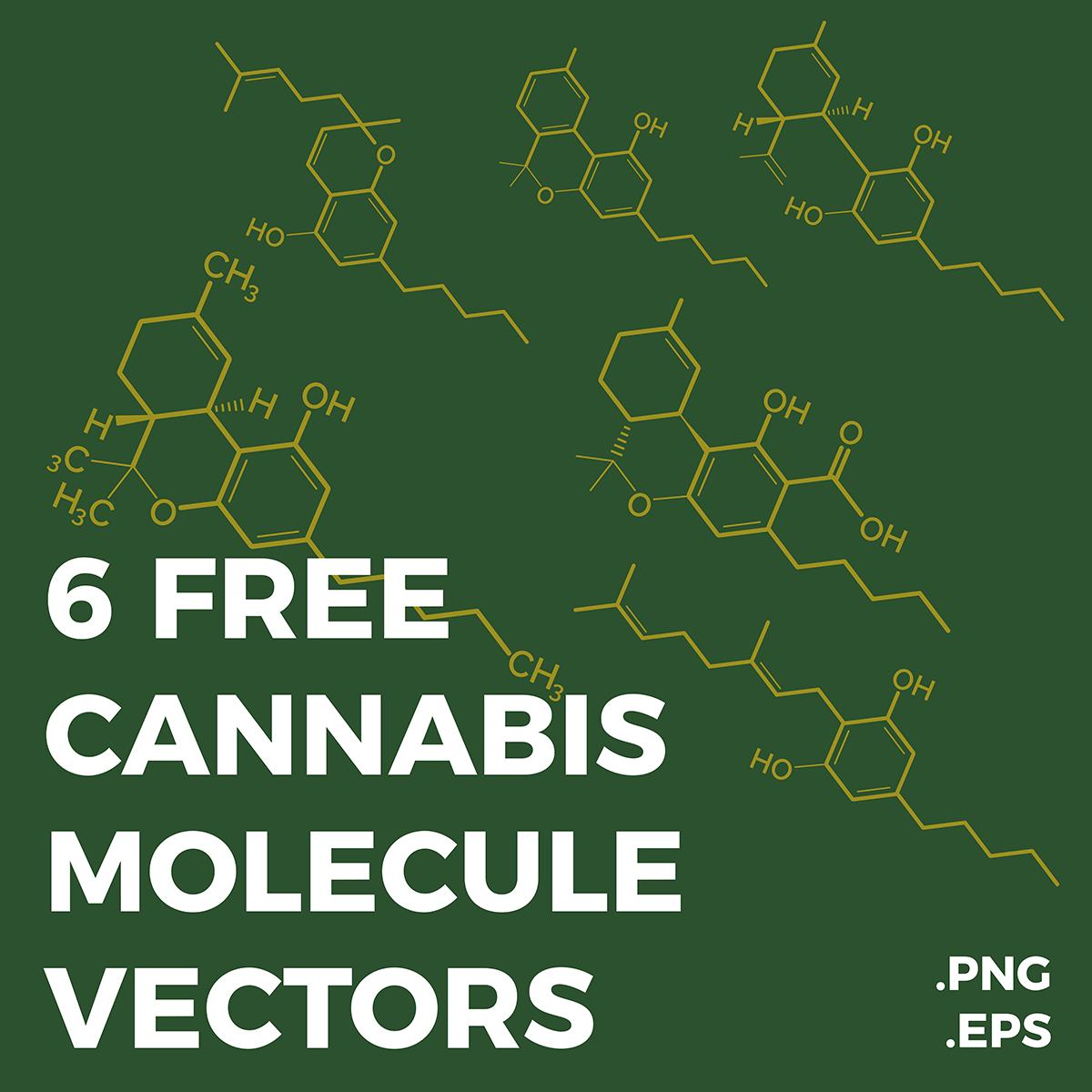 6 Free Cannabis Molecules