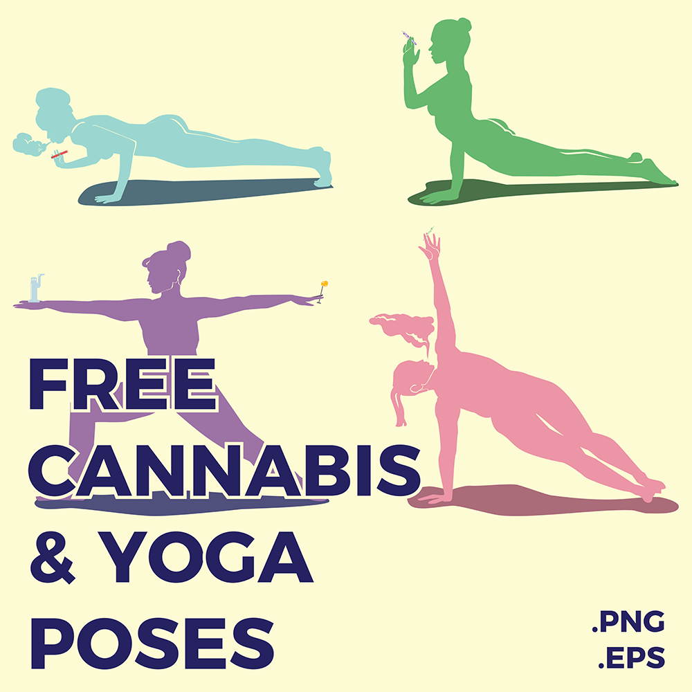 Four Cannabis & Yoga Poses